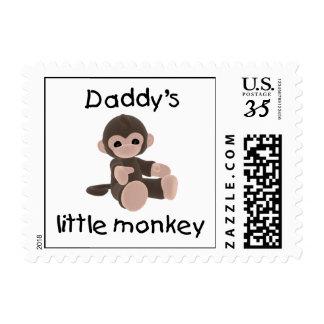 Daddy's Little Monkey Postage