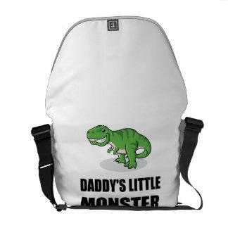 Daddys Little Monster Messenger Bag