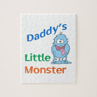 DADDYS LITTLE MONSTER JIGSAW PUZZLES