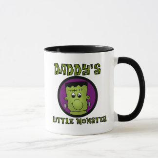 Daddy's Little Monster T-shirts and Gifts Mug