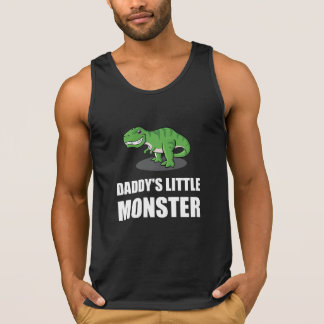 Daddys Little Monster Tank Top