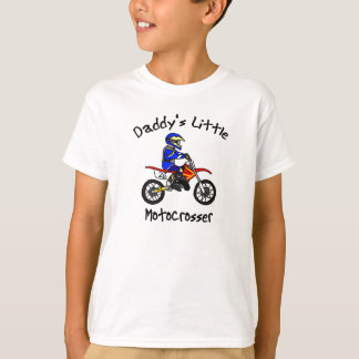 Daddy's Little Motocrosser T-Shirt (Boy)