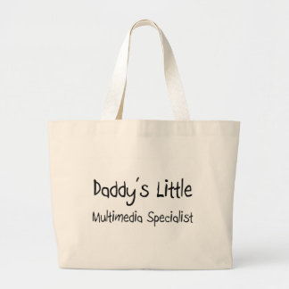 Daddy's Little Multimedia Specialist Tote Bag