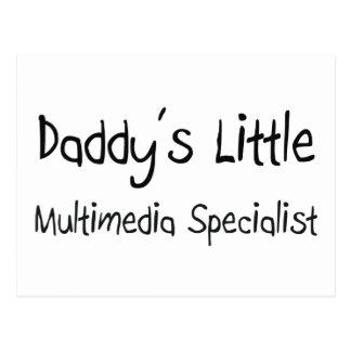 Daddy's Little Multimedia Specialist Postcards