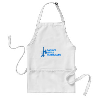 Daddy's Little Paintballer Boy Adult Apron