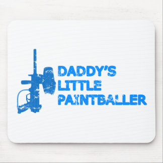 Daddy's Little Paintballer Boy Mouse Pad