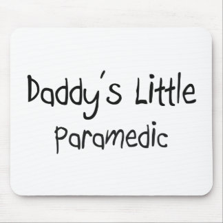Daddy's Little Paramedic Mouse Mat