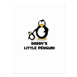 Daddy's Little Penguin Postcard