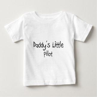 Daddy's Little Pilot Baby T-Shirt