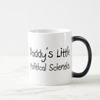 Daddy's Little Political Scientist Coffee Mugs