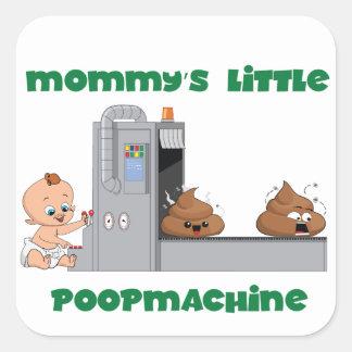 Daddy's little poop machine baby sticker