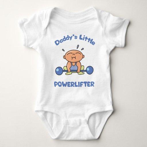 Daddys Little Powerlifter Kids Sport Powerlifting Baby Bodysuit