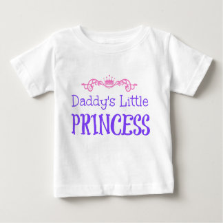 Daddy's Little Princess Baby T-Shirt