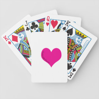Daddy's Little Princess Bicycle Playing Cards