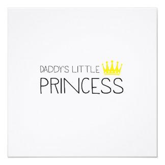 Daddy's little Princess Card