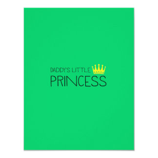 Daddy's little Princess Card