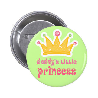 Daddy's Little Princess Crown Buttons