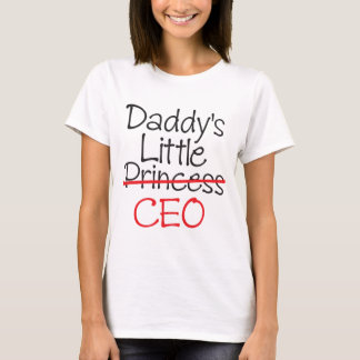 Daddy's Little Princess - Daddy's Little CEO T-Shirt