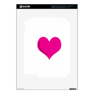 Daddy's Little Princess Decals For iPad 3