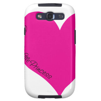 Daddy's Little Princess Galaxy S3 Cover