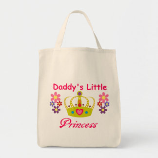 Daddy's Little Princess Grocery Tote