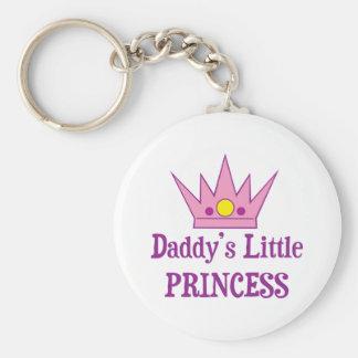 Daddys Little Princess Keychains