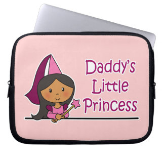 Daddy's Little Princess Laptop Computer Sleeve