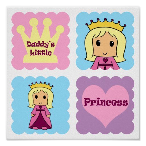 Daddy's Little Princess Posters