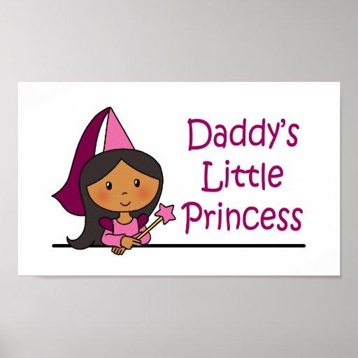 Daddy's Little Princess Print