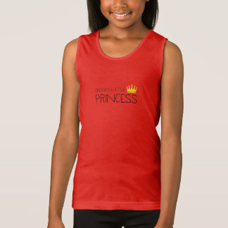 Daddy's little Princess Tank Top