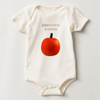 Daddy's Little Pumpkin Baby Shirt