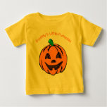 Daddy's Little Pumpkin Baby Tees and