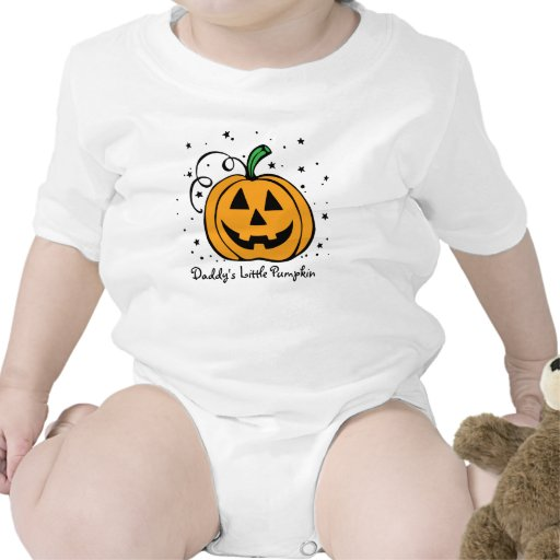 Daddy's Little Pumpkin Infant Tshirt