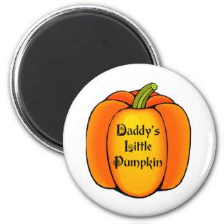 Daddy's Little Pumpkin Magnet