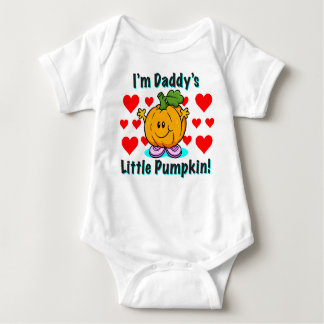 Daddy's Little Pumpkin Outfit Baby Bodysuit