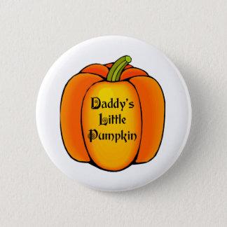 Daddy's Little Pumpkin Pinback Button