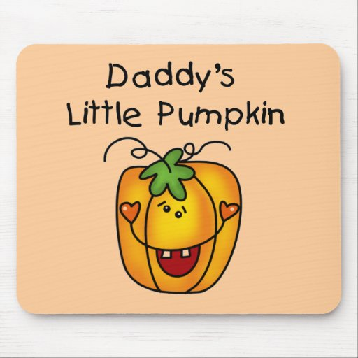 Daddy's Little Pumpkin T-shirts and Gifts Mousepads