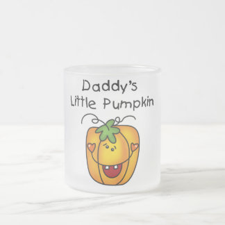 Daddy's Little Pumpkin T-shirts and Gifts 10 Oz Frosted Glass Coffee Mug