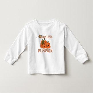Daddy's Little Pumpkin Toddler's  Halloween Shirt