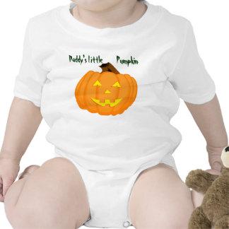 Daddy's Little Pumpkin Tee Shirts