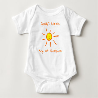 Daddy's Little Ray of Sunshine T Shirt