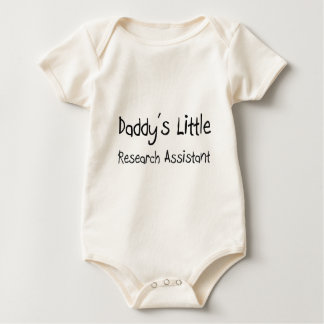 Daddy's Little Research Assistant Baby Bodysuit