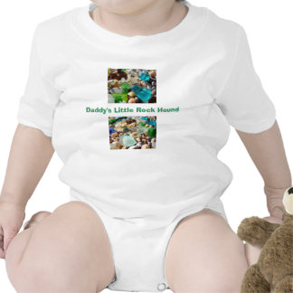 Daddy's Little Rock Hound Clothes Creepers Agates Bodysuits