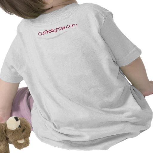 Daddy's Little Rookie T-shirt