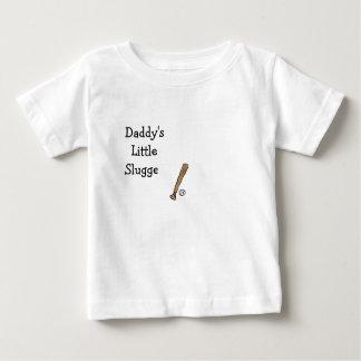 Daddy's Little Slugger Baseball and Bat Shirt
