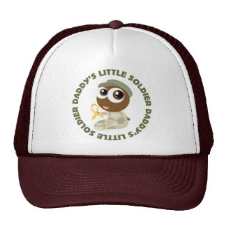 Daddys Little Soldier Ethnic Military Support Trucker Hat