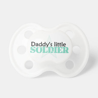 Daddy's Little Soldier Pacifier