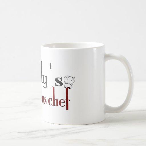 Daddy's little sous chef coffee mug