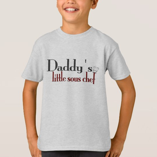 Daddy's little sous chef T-Shirt