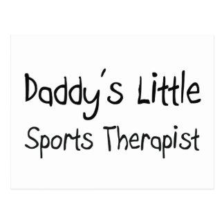 Daddy's Little Sports Therapist Postcard